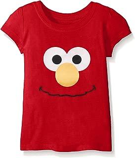 Sesame Street Girls' Short Sleeve T-Shirt Shirt