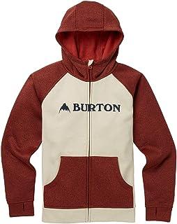 Burton Snowboards Boy's Oak Full-Zip Hoodie Shirt