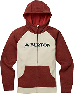 Burton Snowboards Boy's Oak Full-Zip Hoodie Shirt