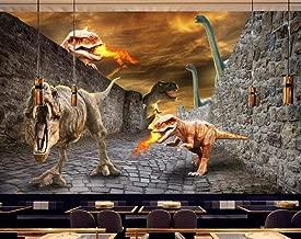 Cowallpaper 3D Wallpaper Dinosaur World Animal Construction Wall Background Decoration Poster Picture Photo Senior Silk Living Room Bedroom Kitchen-B-200Cmx140Cm