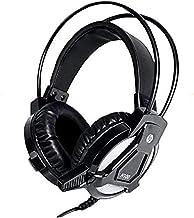 Headset HP Gamer H100 Preto - Com Microfone Driver de 50mm P2 3.5mm Áudio Stereo - 7QV34AA