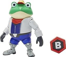 World of Nintendo Nintendo Slippy Toad Action Figure, 4