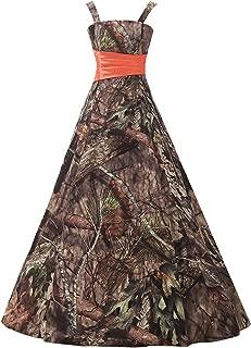 Long Bridesmaid Dress CAMO Evening Prom Dress Army Party Dress NE07