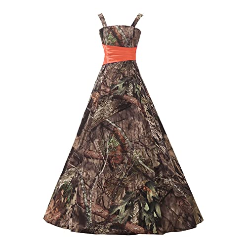 4bc313baaf12f Belle Lady Long Bridesmaid Dress CAMO Evening Prom Dress Army Party Dress  GS66