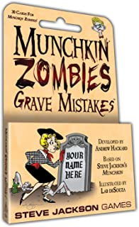Steve Jackson Games Munchkin Zombies Grave Mistakes