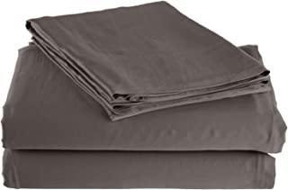 Ultra Soft 300-Thread-Count Sheet Set, Rayon from Bamboo, Twin XL, Grey