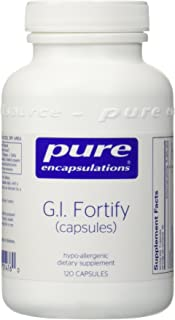 Pure Encapsulations - G.I. Fortify (Capsules) - Supports G.I. Function, Motility and Detoxification* - 120 Capsules