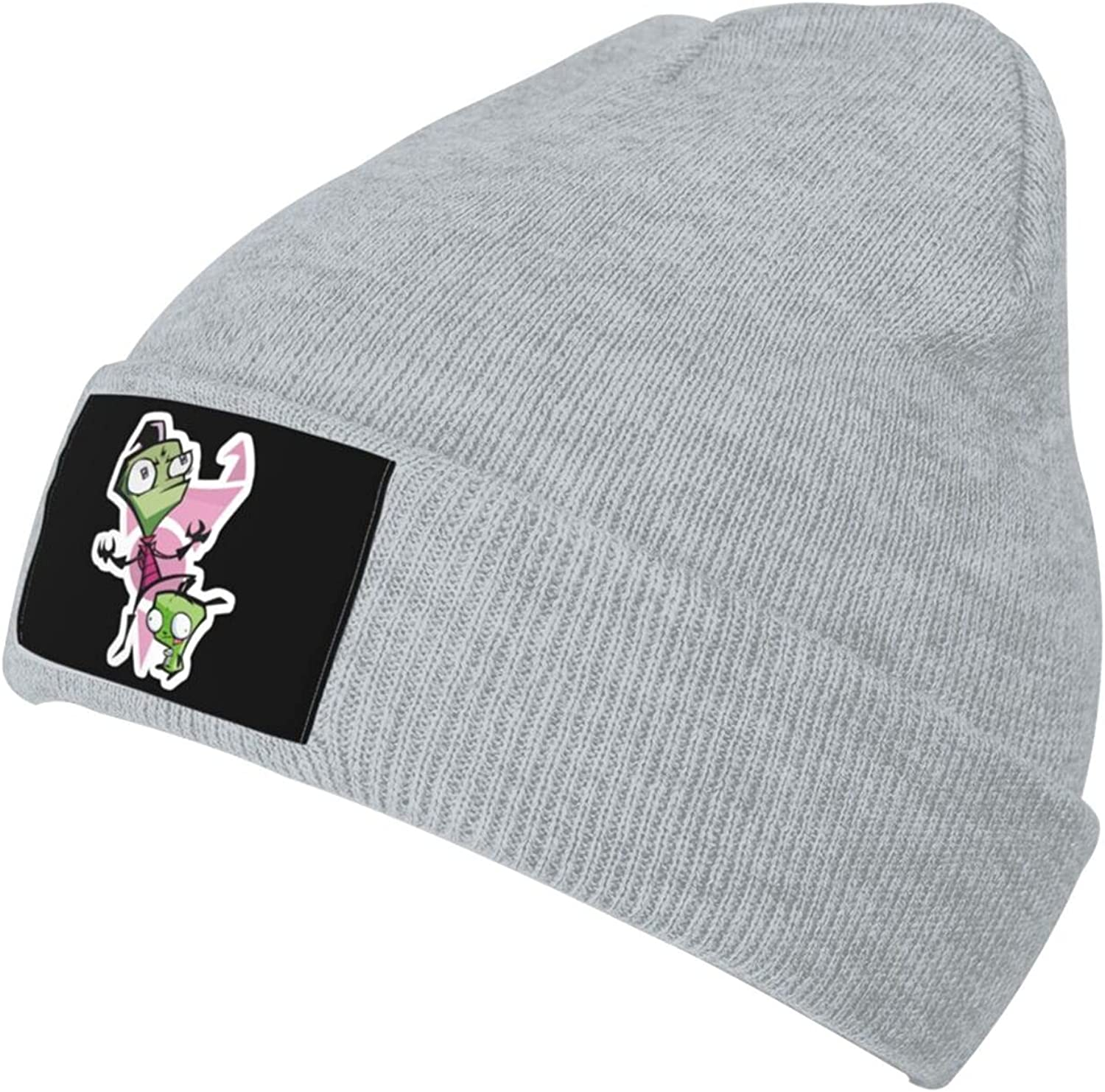 Ruporch Invader-Zim Knit New popularity Hat Beanie Cap fo Adult Hats In a popularity Unisex