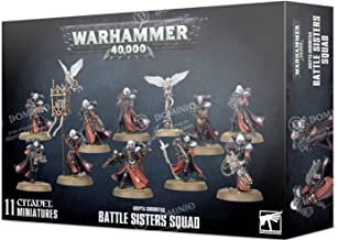 Warhammer Games Workshop 40k Adepta Sororitas Battle Sisters Squad 52-20