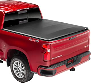 Extang eMAX Folding Tonneau Cover - fits Silverado/Sierra 1500 2014-18 6.6' Bed Black