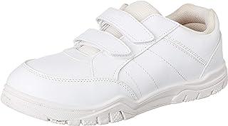 PARAGON Boy's White School Shoes - 10 Kids UK (28 EU) (A1PV0029GPWHT00010G499)