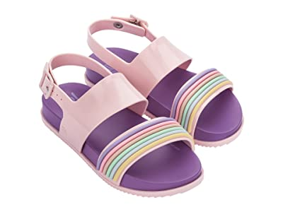 Mini Melissa Mel Cosmic Sandal II INF (Little Kid/Big Kid) (Lilac) Girl