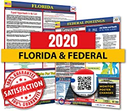 2019 Florida State & Federal Labor Law Posters for Workplace Compliance