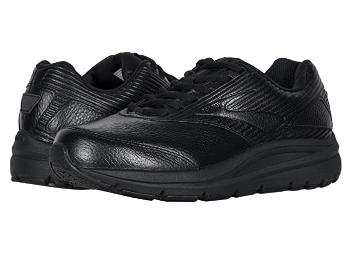 Brooks  Addiction Walker 2 (Black/Black) Womens Walking Shoes