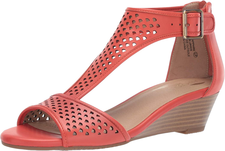 Aerosoles Womens Sapphire Wedge Sandal