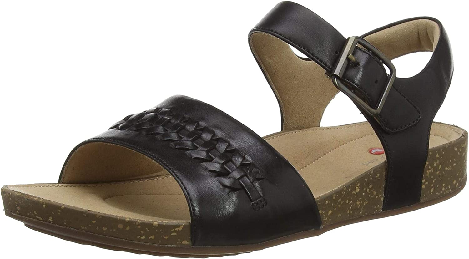 Clarks Women's Un Perri Way Sling 5% OFF Grey Free shipping on posting reviews Sandals Leat Back Stone