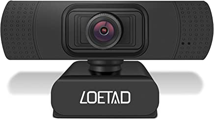LOETAD Webcam PC HD 1080P Telecamera PC con Microfono Stereo per Video Chat e Registrazione, Compatibile con Windows, Mac e Android - Trova i prezzi più bassi