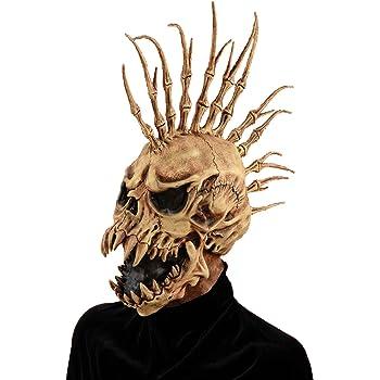 Forum Novelties Men's Sinister Fin Skull Adult Costume Mask