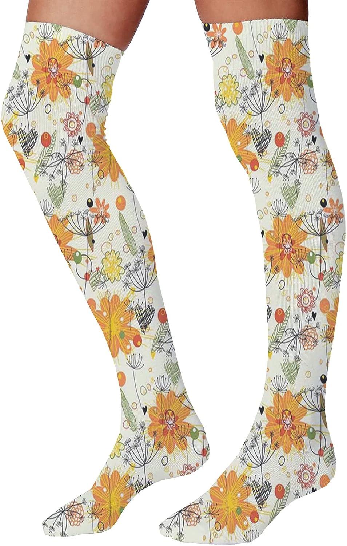 Women's Max 60% OFF Socks 23.6 Inch Selling rankings Cheerful Kids Ven Planets Mercury Sun as