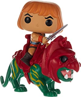 Funko 47680 Pop! Ride: Masters of The Universe - He-Man on Battle Cat