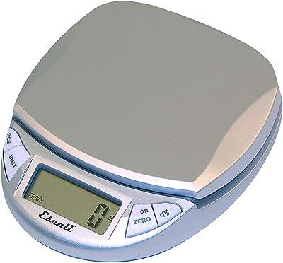 Escali N115S Pico Digital Scale, Silver-Gray