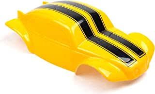 SummitLink Compatible Custom Body Yellow Bumblebee Style Replacement for 1/10 1/8 Scale RC Car or Truck (Truck not Include...