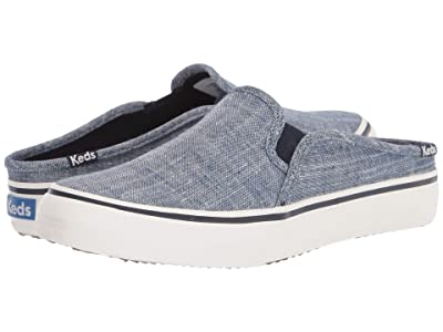 Keds Double Decker Mule Seasonal Solids (Chambray) Women