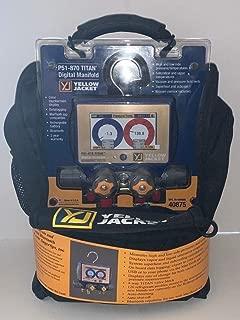 Yellow Jacket P51-870 Titan? Digital Manifold 40875 w/ 5/16 Compact Valve Hoses