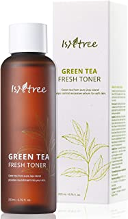 ISNTREE Green Tea Fresh Hydrating Face Toner 6.17 Fl Oz with Hyaluronic Acid for Sensitive, Oily, Dry, Acne-Prone, Skin | ...