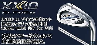 DUNLOP(ダンロップ) XXIO 11 ゼクシオ11 ゼクシオ イレブン アイアン 6本セット [番手I#6~PW+(単品1本)] N.S.PRO 860GH DST for XXIO スチールシャフト メンズゴルフクラブ 右利き用 ネイビー