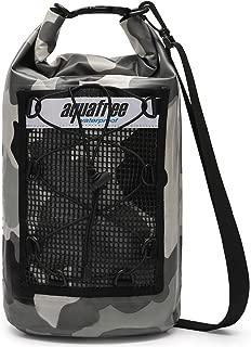aquafree Waterproof Dry Bag 12L 24L Multi-Pocket Reflective Strip Detachable Adjustable Shoulder Strap Roll Top Sack Keeps Gear Dry for Kayaking Boating Rafting Surfing Fishing Camping Beach