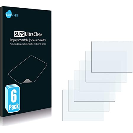6 Pack Savvies Screen Protector compatible with Canon PowerShot SX530 HS Screen Protector Clear Protection Film