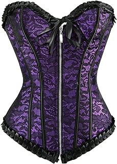 zip front corset