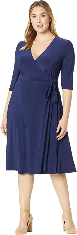 323dec02b4d8 Kiyonna harlow faux wrap dress | Shipped Free at Zappos