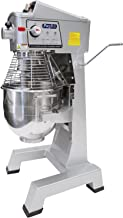 Commercial Stainless Steel Food Mixer, 30-Quart PREPPAL PPM-30 Large Floor Heavy Duty Mixer Stand mixer with Bowl Lift