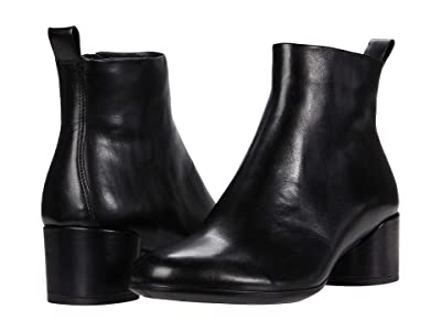 ECCO Shape 35 Mod Block Boot (Black) Women
