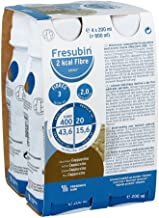 Fresenius Kabi FRESUBIN 2A KCAL Fibre Drink Cappuccino Water Bottle 200A ML 1er Pack 1A x 2 75A kg x 4 Estimated Price : £ 17,94