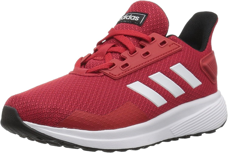 Adidas Performance Unisex-Kids Duramo 9 Running schuhe, Scarlet Weiß schwarz, 4.5 M US Big Kid B077Y1Q5WW  Fairer Preis