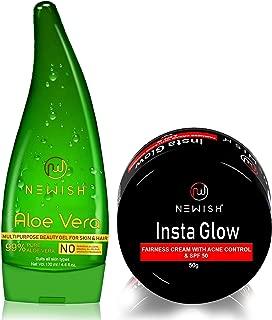 Newish Combo Pack for gift (Aloe Vera+ Insta Glow)