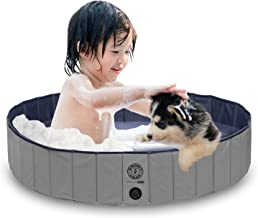 KOPEKS Outdoor Swimming Pool Bathing Tub - Portable Foldable - Ideal for Pets