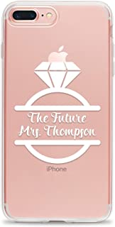 Personalized Phone Case for Newly Engaged Bride to be Compatible with iPhone 11 Pro Max Xr Xs X 10s 10r 10 8 Plus 7 6s 6 Se 5s 5 the Future Mrs