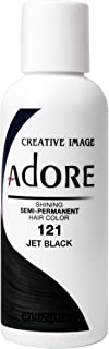 Adore Shining Semi Permanent Hair Colour, 121 Jet Black by Adore
