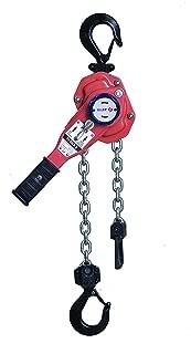Hache /à cliquet 4T Heavy Duty Hand Power Puller Outil de traction avec 2 crochets treuil de bouteille