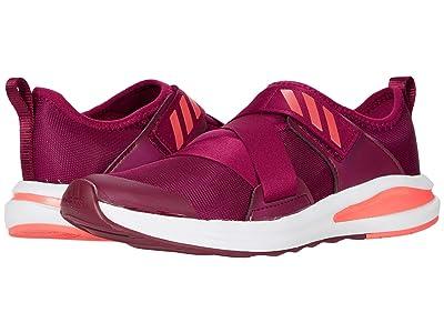 adidas Kids FortaRun X (Little Kid/Big Kid) (Power Berry/Signal Pink/Footwear White) Girls Shoes