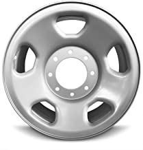 Road Ready Car Wheel For 2005-2010 Ford F350SD Ford F250SD 18 Inch 8 Lug Gray Steel Rim Fits R18 Tire - Exact OEM Replacement - Full-Size Spare