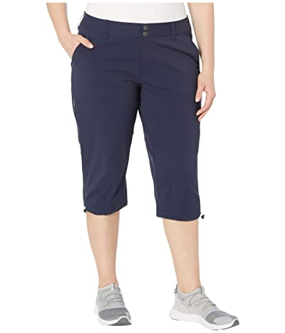 Columbia Plus Size Saturday Trail II Knee Pant (Dark Nocturnal) Women