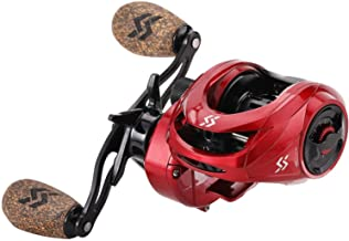 Sougayilang Fishing Baitcasting Reels, 8:1 Gear Ratio...