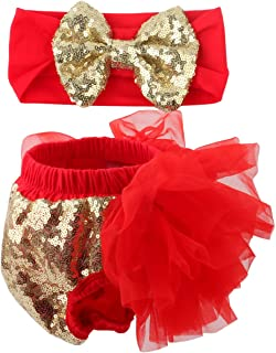 gold sequin bloomers