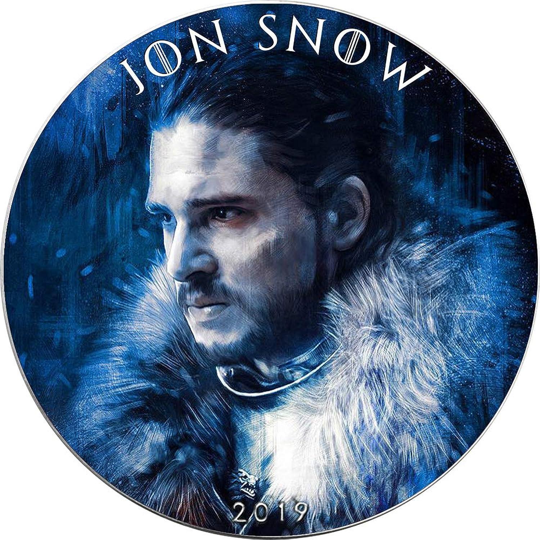 Sin impuestos Power Coin Jon Snow Snow Snow Juego of Thrones II Got Walking Liberty 1 Oz Moneda Plata 1  USA 2019  promociones de equipo