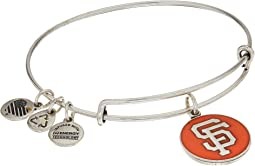 Rafaelian Silver Finish/Orange Charm